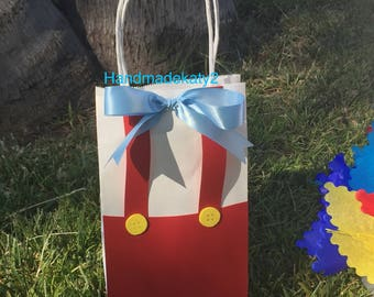 Goodie bags pinocchio Set of 12 bags