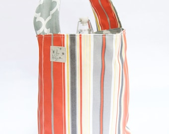 4 Bottle Carriers - Stripes