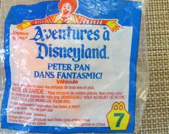 Vintage Mcdonalds Peter Pan Toy Sealed