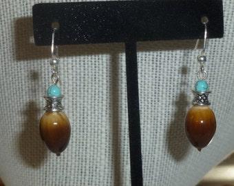Acorn Earrings #14