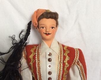 Antique European Doll - maybe a matador
