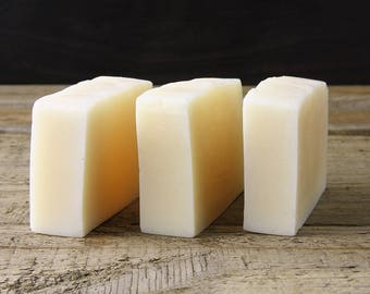 Zesty Lemongrass Soap / Natural / Handmade / Essential Oil Soap / Vegan / Palm Oil Free