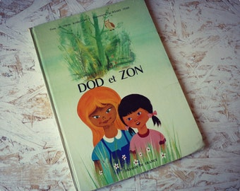 "Illustrated vintage - ""Dod and Zon"" album-"