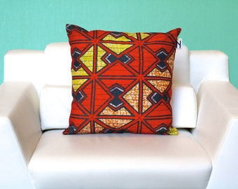 Geometric Batik Pilllow (Pillow Insert Included!) FREE SHIPPING