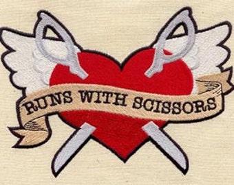 Runs With Scissors Patch