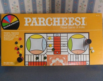 Parcheesi Vintage Board Gamy by Selchow & Righter from 1982