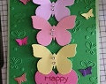 Butterfly Mothers Day Greeting Card