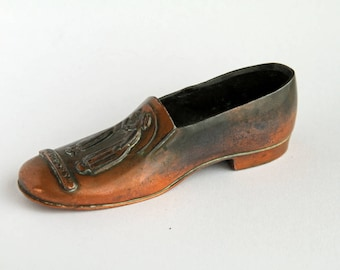 Copper Jennings Brothers Pincushion Shoe