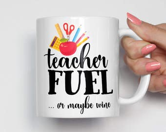 Teacher Wine Gift, Teacher Gift Personalized, Teacher Gifts, Teacher Mug, Gifts for Teachers, Teacher Gift Ideas, Inspirational Mug 0399