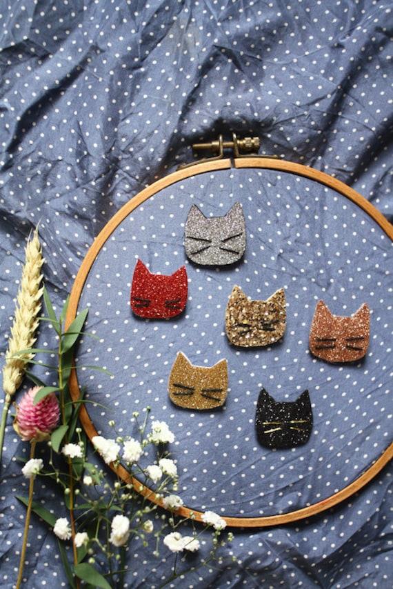 PIN kitten - Romy - pin cat - Handmade - La Rochelle