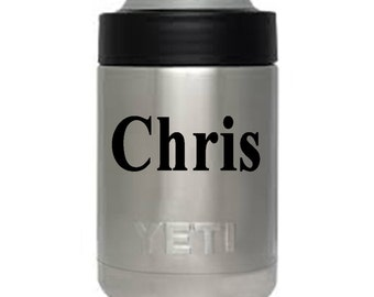 12 oz YETI colster personalized custom engraved Christmas gift groomsman Authentic