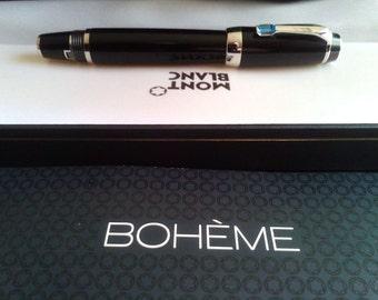 stylo plume mont blanc meisterstuck 4810 14k