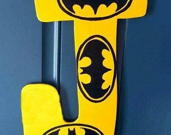 Batman Letter Door Hanger