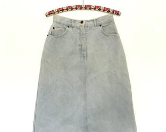 Vintage Jeans Skirt Lee Cooper// Highwaist//1980s
