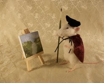Needle Felted Mouse, Felted Rodent, Mouse, Mice