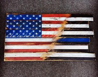 Pallet Flag Etsy