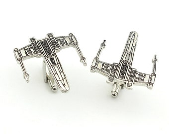 Novelty Star wars Cufflinks - Perfect Star Wars Gift - Fighter