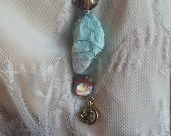 AmBelleshments - Dreamy Daze Amazonite necklace