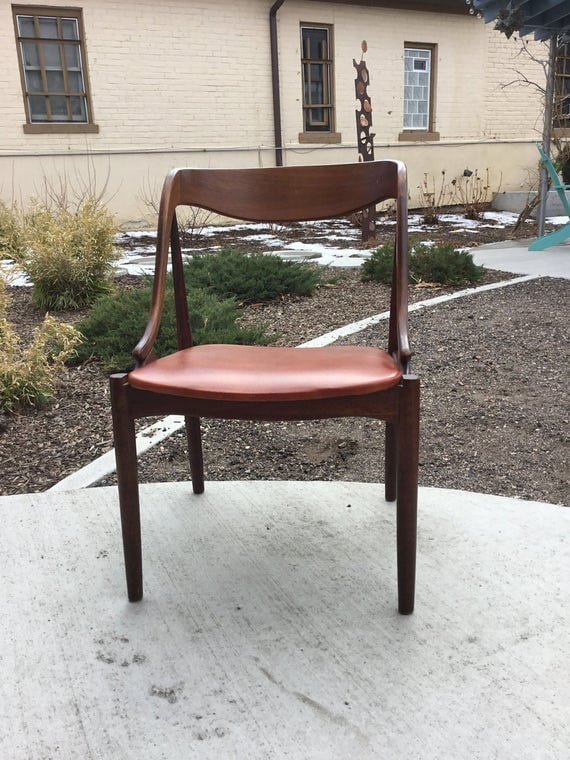 Spectacular Mid-Century Bentwood Chair Walnut Eames Era In Beautiful Condition