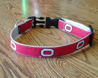 Ohio State med. to large dog collar