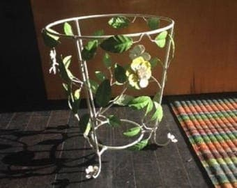 Vintage Italian Tole Plant Stand or Bowl Stand