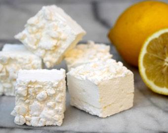 Lemon meringue gourmet marshmallows