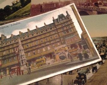 6 UK postcards