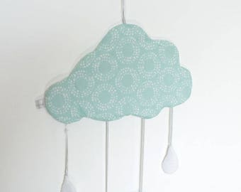 IN STOCK - Cloud Mobile - baby Mobile - mobile décor - baby room - decoration - birthday gift