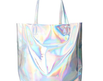 Holographic Bag Etsy