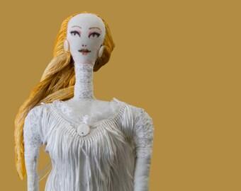 White Swan Doll