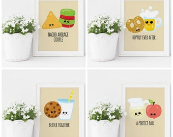 Perfect Pair Bridal Shower Signs - A Perfect Pair Party - Punny Party Signs - Perfect Pair Wedding - Unique Bridal Shower - Printable 5x7