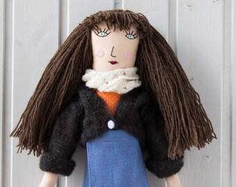 Milena the rag doll