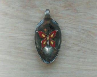 Butterfly Spoon Pendant