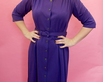 Purple St Michaels dress
