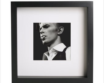 David Bowie photo print | Use in IKEA Ribba frame | Looks great framed for gift | Free Shipping | #1