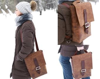 Shoulder bag/ Leather bags Women/leather Messenger bag women/Handmade leather bag/Genue leather/womens backpack.