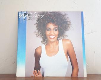 1987 Whitney Houston LP Vinyl Record Album Vintage 1980s Music