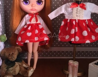 Dress for Blythe and similar, size 1/6