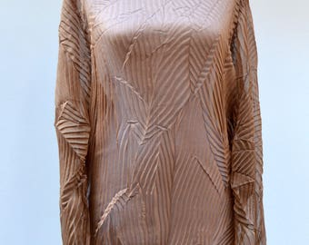 Beautiful vintage transparent tunic / shirt