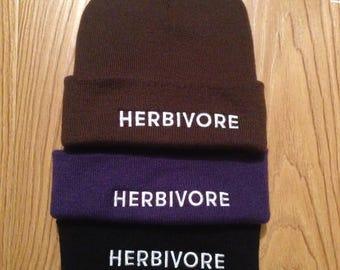 Unisex Herbivore Beanie Hat - Limited Edition Colours