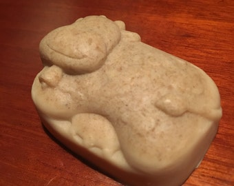 Oatmeal Milk Honey Bar Soap Goats Milk