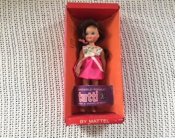 """Tutti doll in original package (""""Barbie's tiny sister"""")"""