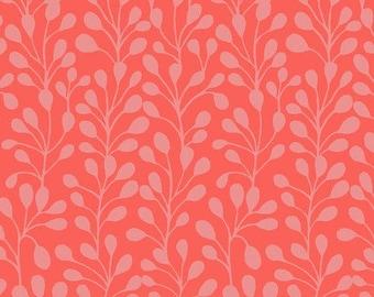 Dashwood Studio Suffolk Garden Fern SFGN1094/Pink Cotton for patchwork, quilting, dressmaking and crafts