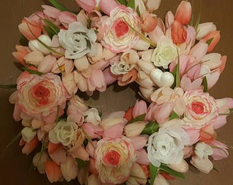 Hand Made Floral Wreath