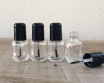 Mini Nail Polish Bottles - 5 ml