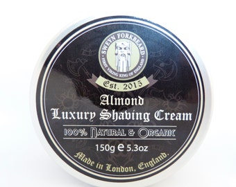 Shaving Cream Almond 150g / 5.3oz by Sweyn Forkbeard