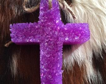 Cross scent ornament