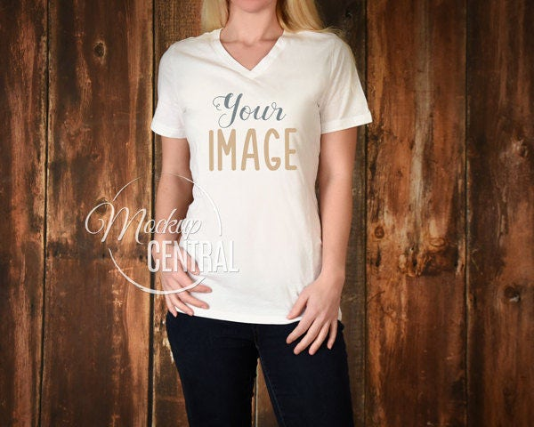 Blank white women 39 s t shirt apparel mockup fashion design for Best selling t shirts on etsy