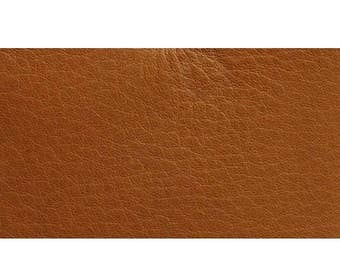 Italian Full Leather Hide Aniline/SAUVAGE Smooth colour Tan + GIFT