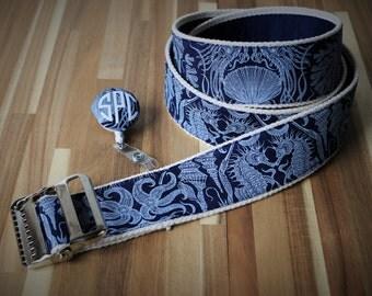 "High Quality Custom Gait Belt and Badge Reel ""The Grady"""